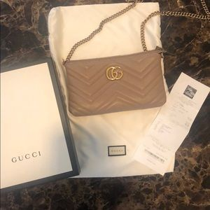 Gucci Marmont 2.0 Wallet on a Chain